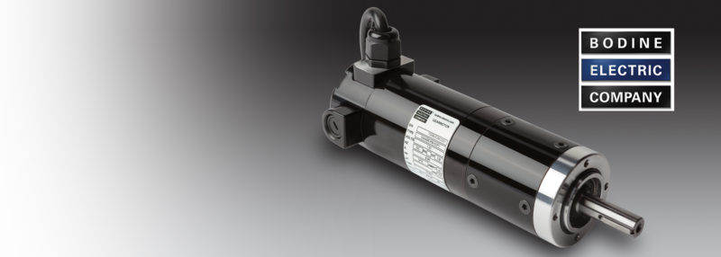 New planetary gearmotors from Bodine Electric Company
