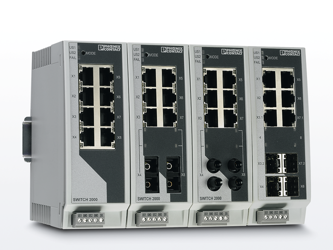 Kaman Automation Ethernet Switches