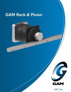 GAM Rack &Pinion Catalog