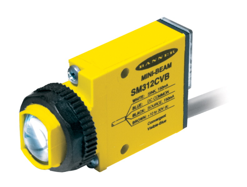 Kaman Automation MINI BEAM SM312 DC Series