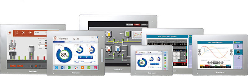 Enhanced HMI SP5000 Series Line Pro-face