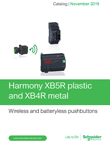 Kaman Automation Schneider Harmony Wireless and Battery less push buttons thumb Products