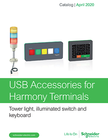 Kaman Automation Schneider USB Accessories for Harmony Terminals thumb Products