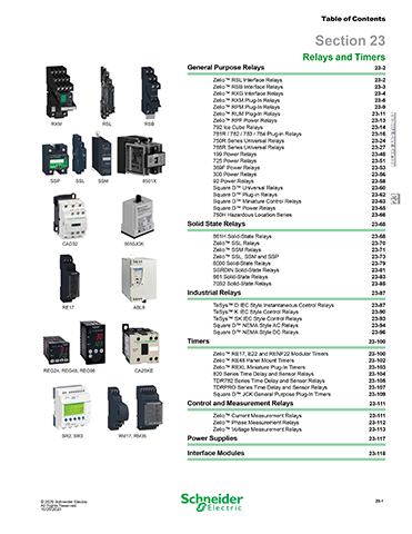 Kaman Automation Schneider Zelio Relays and Timers thumb Products