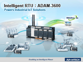 Advantech ADAM 3600 Intelligent RTU eBook