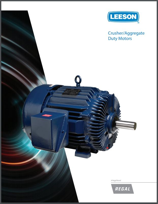 Kaman Automation leeson crusher duty motor brochure