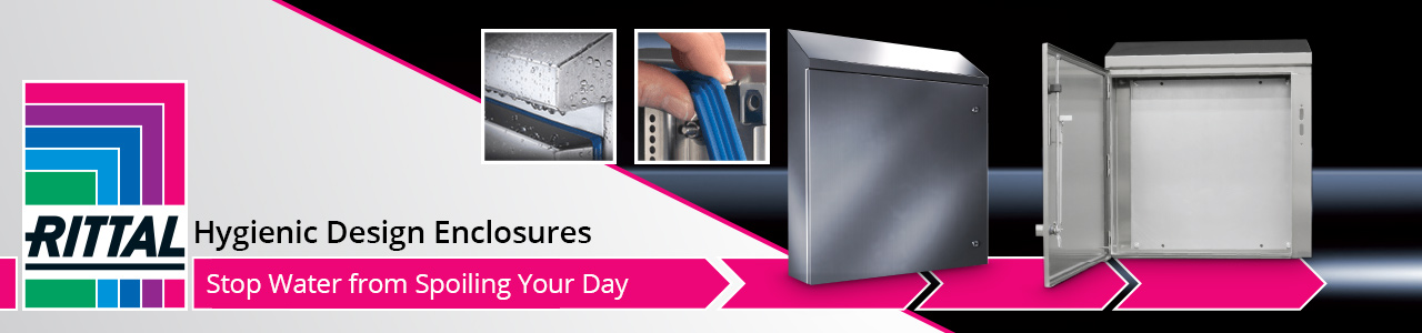 Rittal Hygienic Design Encosure - Stop Water from Spoiling Your Day