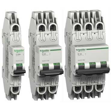 Schneider Electric Mulit-9 System UL 489 Miniature Circuit Breakers