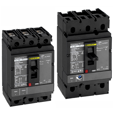 Schneider Electric PowerPact Circuit Breakers