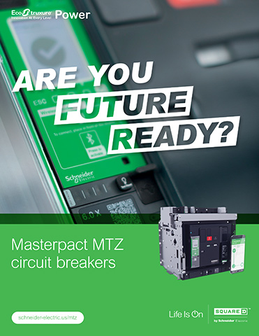 Schneider Are You Future Ready - Masterpact MTZ Circuit Breakers brochure
