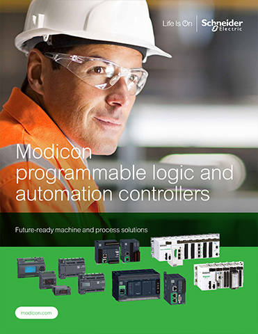 Schneider Modicon Programmable Logic and Automation Controllers